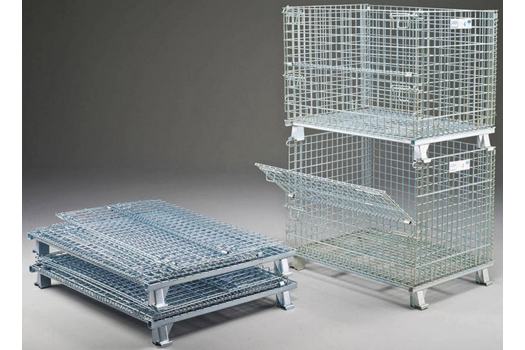 A foldable storage cage is what you've been looking for