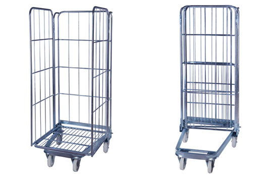 Less space and more convenience with storage cage with wheels