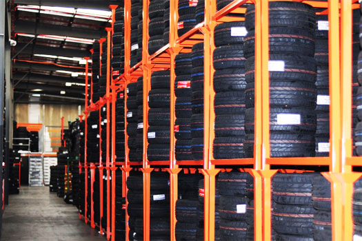 Tire Storage Racks – Benefits to The Business