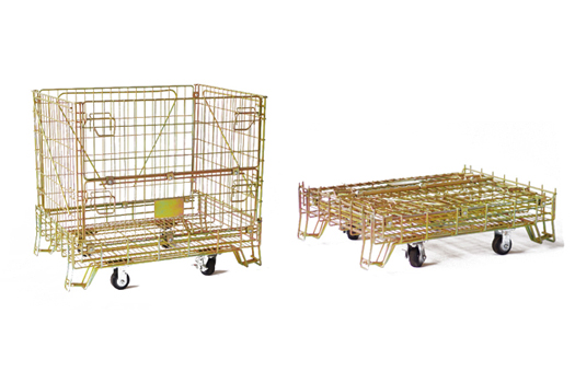 Buying folding storage cages of your choice turns simpler and convenient