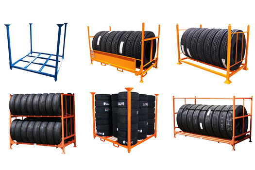 Get The Best Heavy Duty Tire Racks For Your Business!