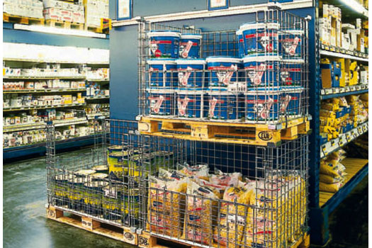 Different Types Of Pallet Cages For Better Storage