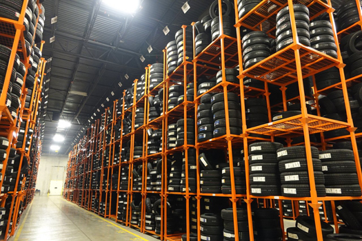 Tire Rack: An Efficient Racking System for Shopping Complexes