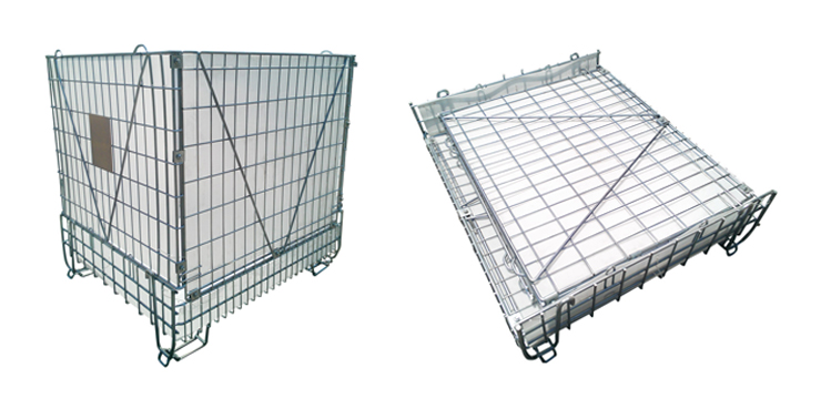 Getting Benefits of Collapsible Properties of Wire Mesh Containers
