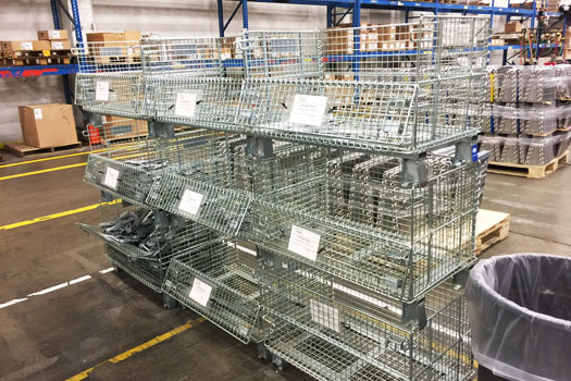 Improvising the Material Handling Quality with Wire Mesh Containers