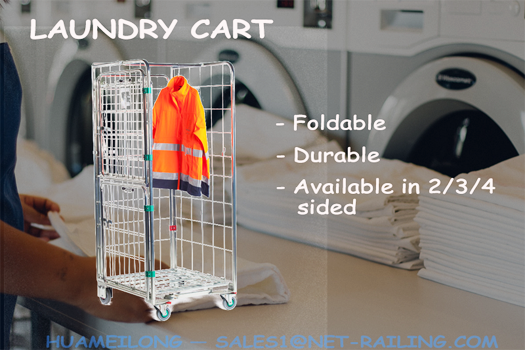 The Brilliant Other than Laundry Uses of Laundry Carts for Effective Business: