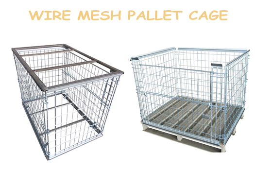 All About Metal Pallets & Steel Pallets in Pallet Cages