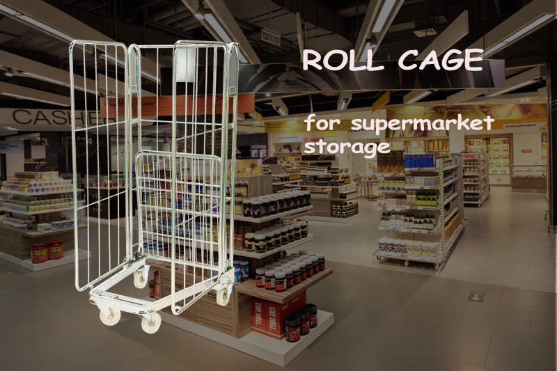 Can Warehouse Cage Trolley & Super Market Roll Cages be Same If yes how