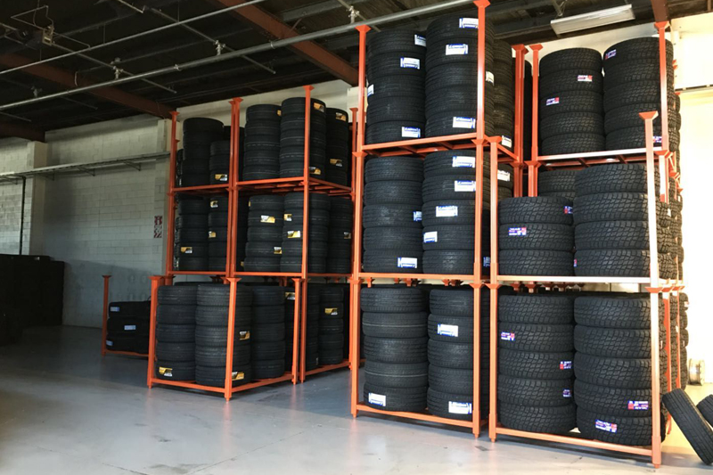 Storage Solutions with Tire Pallets Storage Techniques