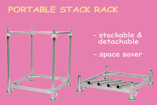 4 Reasons Your Warehouse Must Have Portable Stack Racks