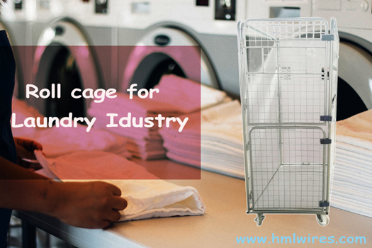Laundry Industry Uses of Roller Containers