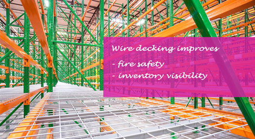 How Wire Mesh Decking Ensures Safety in A Warehouse