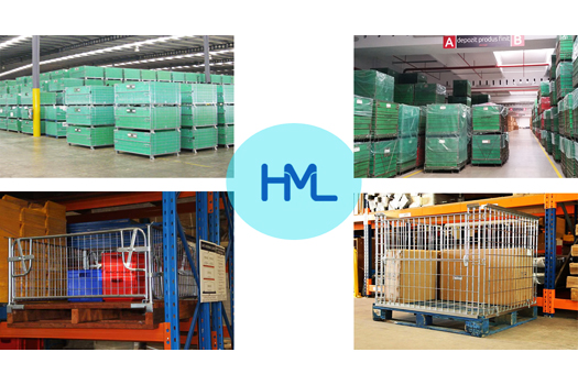 The Applications of Wire Mesh Containers in Book Industry