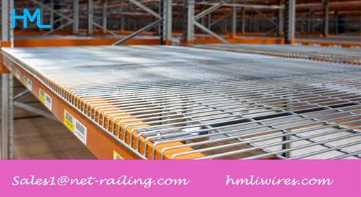 Maintain your Warehouse Clean with Wire Decking for Pallet Racking