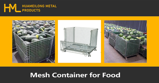 Dry Food Storage Tips with Wire Mesh Container