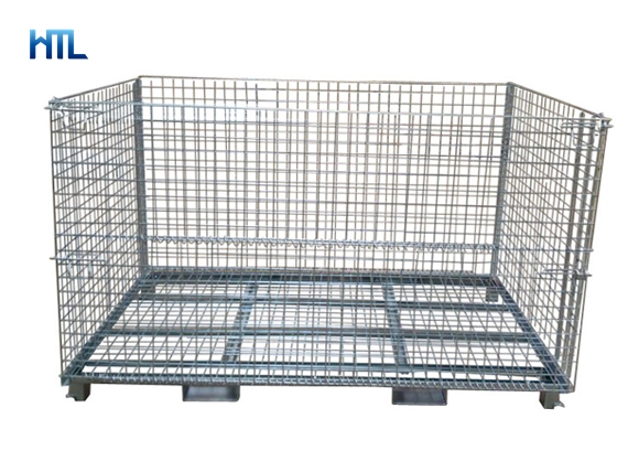 Foldable Wire Mesh Container